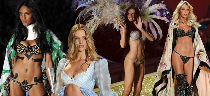US-VICTORIAS SECRET RUNWAY