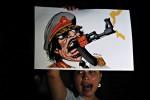 NICARAGUA-LIBYA-PROTEST-KADHAFI